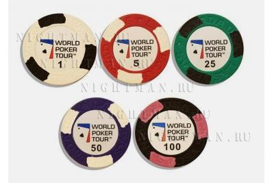 WPT 300 - покерный набор