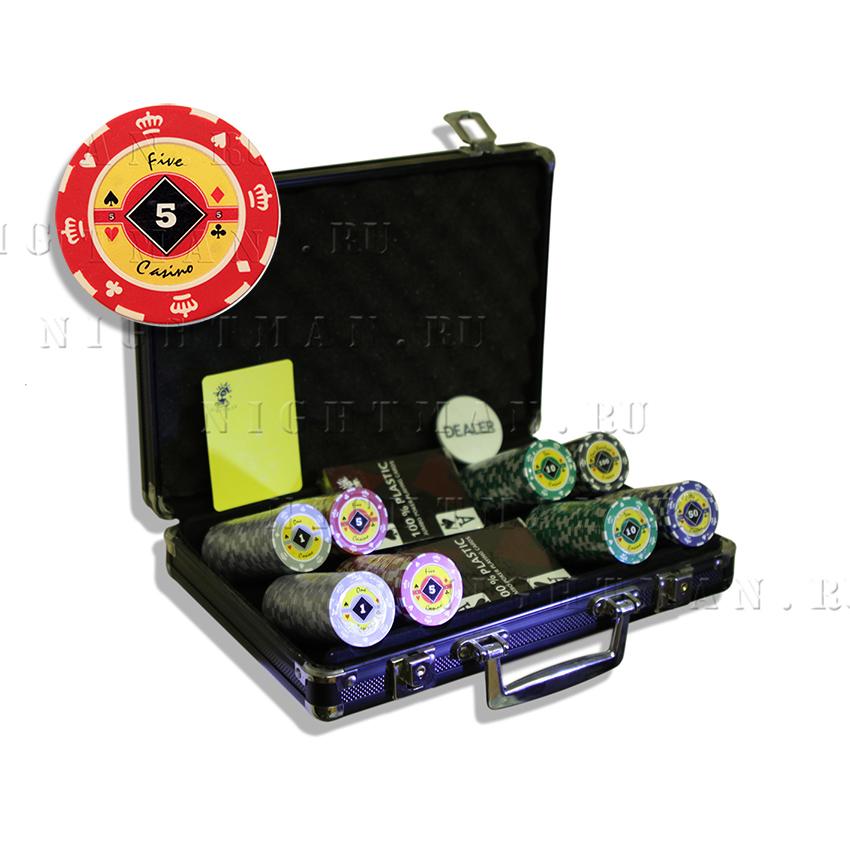 Crown 200 - покерный набор