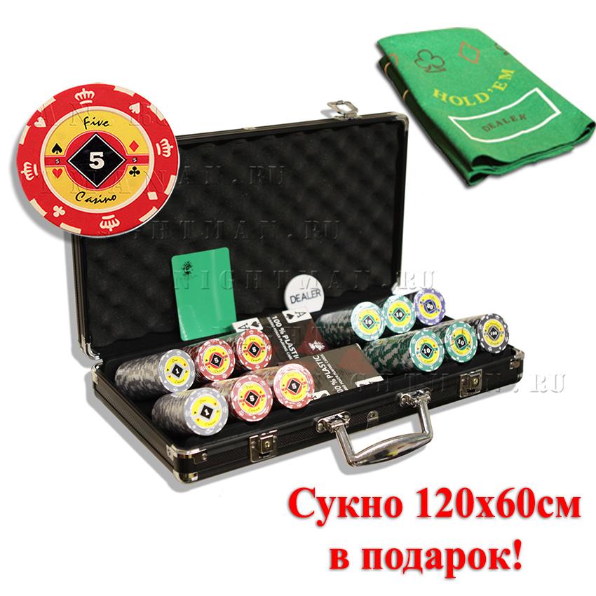 Crown 300 - покерный набор