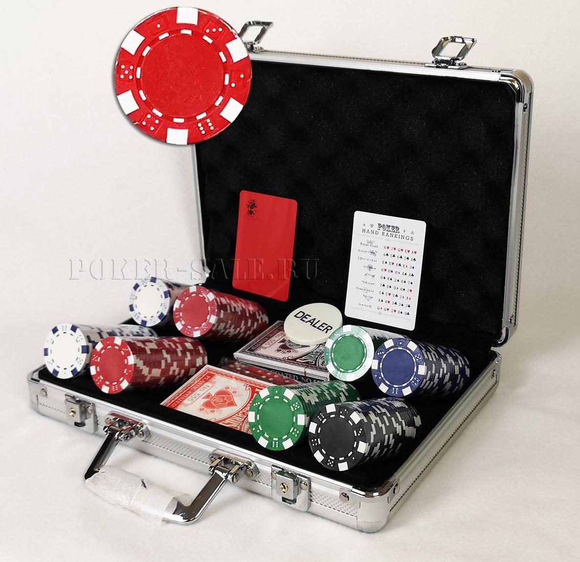 DICE 200 - покерный набор