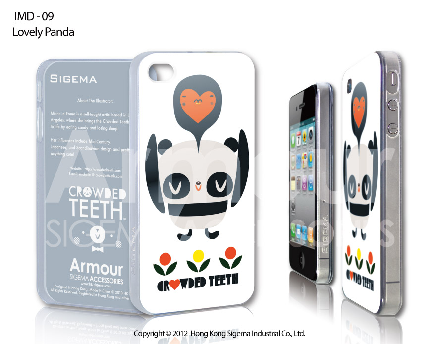 "Чехол для iPhone 4/4s ""Lovely Panda"""