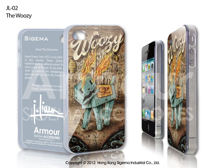 "Чехол для iPhone 4/4s ""The Woozy"""