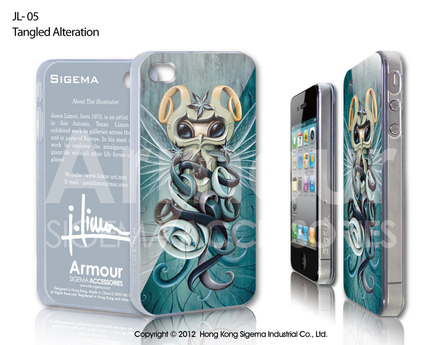 "Чехол для iPhone 4/4s ""Tangled Alteration"""