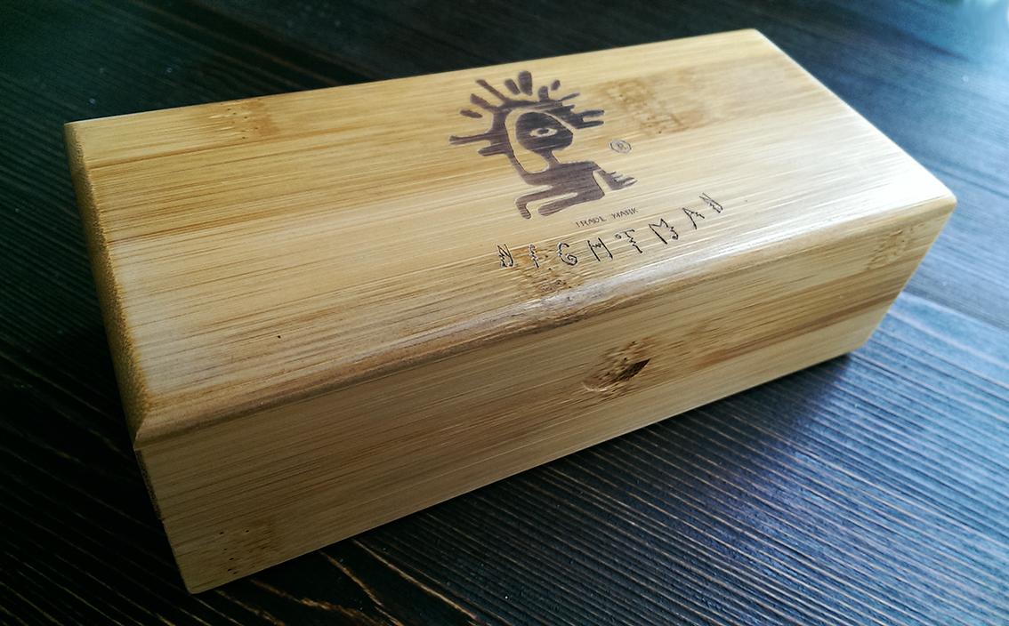 Деревянная шкатулка для очков NM-1102