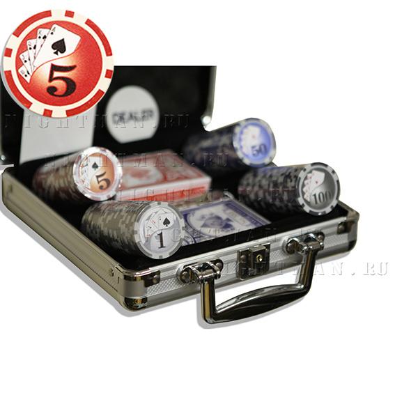 Royal Flash 100 - Покерный набор