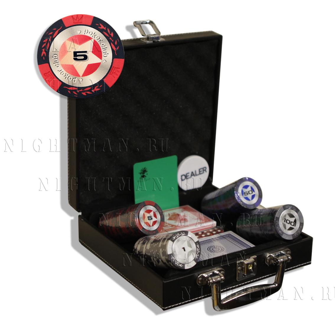STARS 100L - Покерный набор