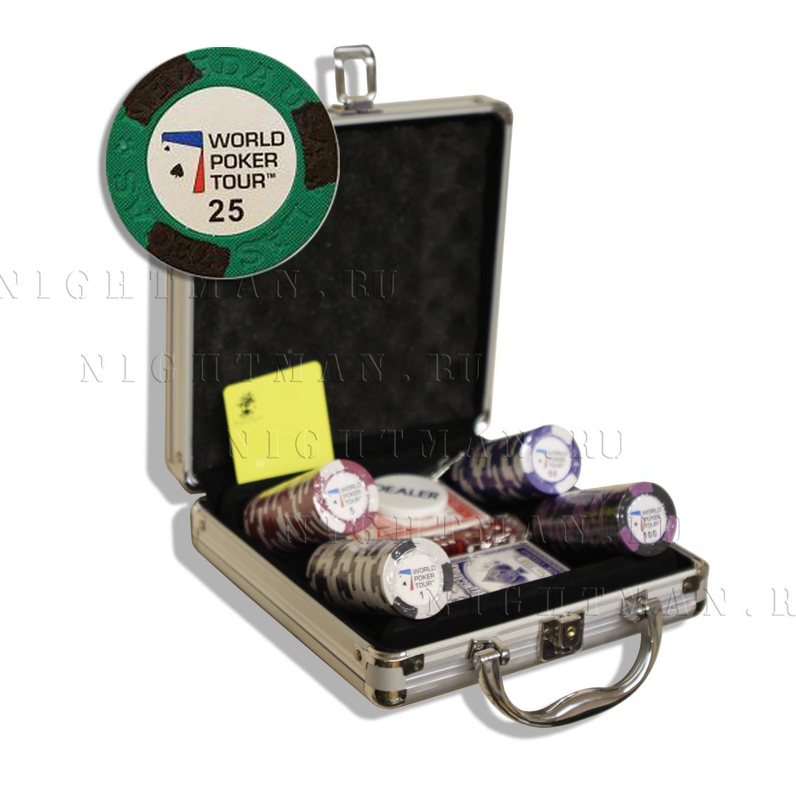 WPT 100 - Покерный набор