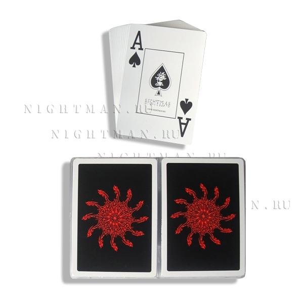Покерные карты «Dragon». Набор из двух колод в пластиковом боксе.