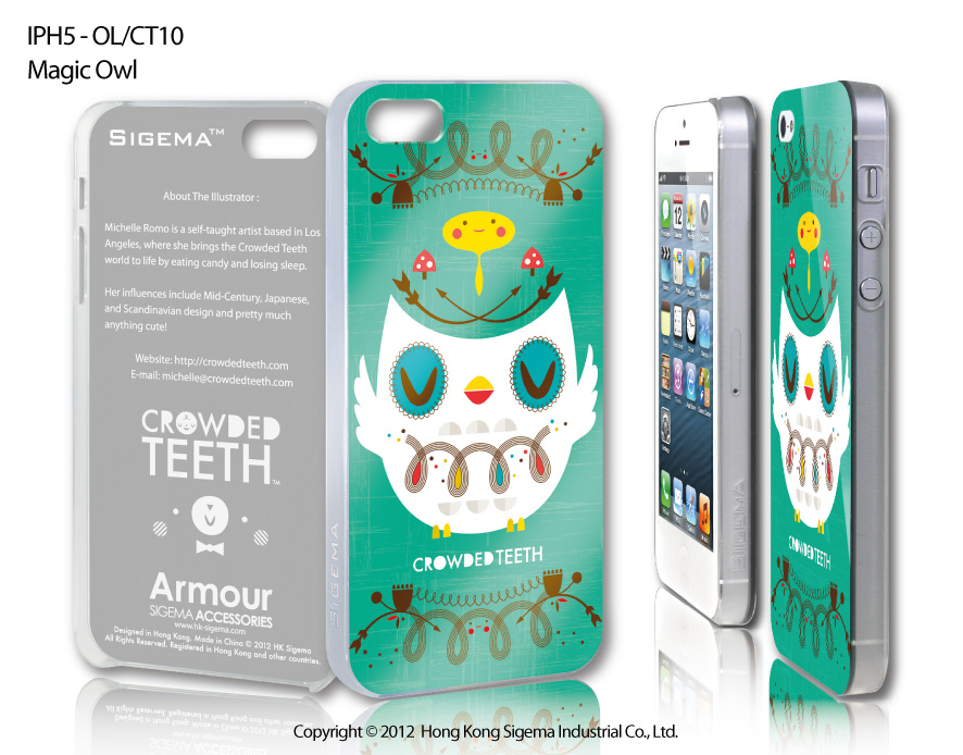 "Чехол для iPhone 5 ""Magic Owl"""