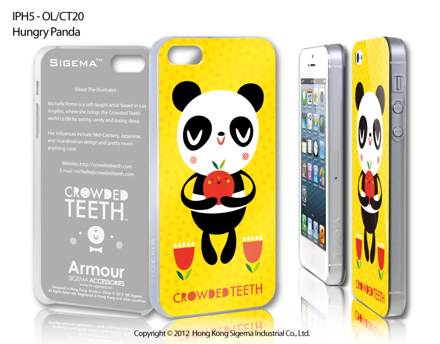 "Чехол для iPhone 5 ""Hungry Panda"""
