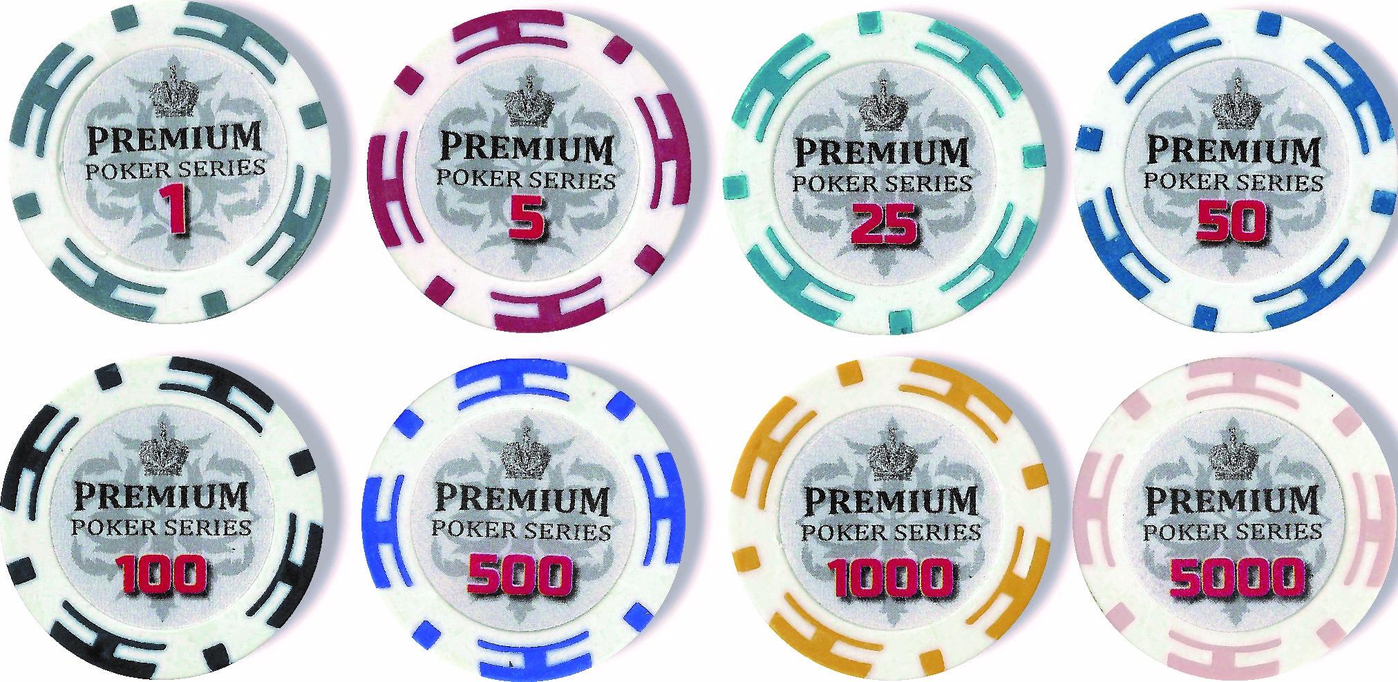 Покерные фишки Premium 11.5 гр
