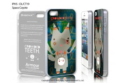 """Чехол для iPhone 5 """"Space Coyote"""""""