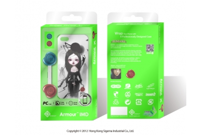 "Чехол для iPhone 5 ""Oriental Girl"""