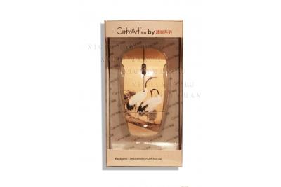 """Беспроводная компьютерная мышь""""Red-crowned Crane"""""""