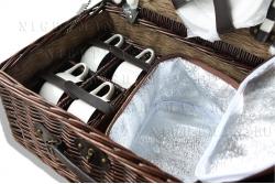 Арт.2712. Шоколад - Набор для пикника на 4 персоны.