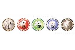 Royal Flash 300L - покерный набор