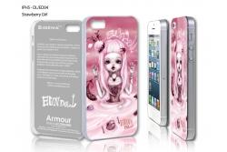 """Чехол для iPhone 5 """"Strawberry Girl"""""""